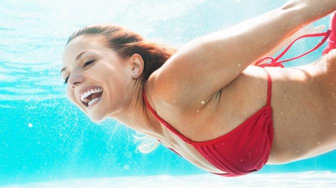 Oblikujte telo u vodi