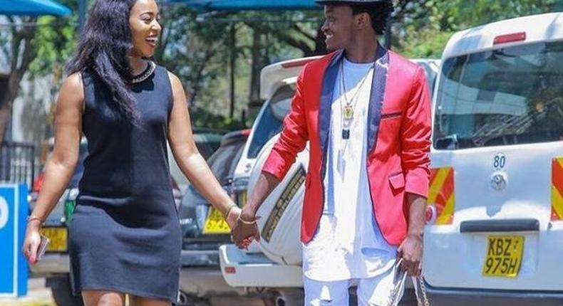 Bahati and his 'prayer partner'