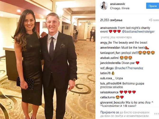 Ana u seksi haljini, a Švajni elegantan do maksimuma: Par pokrenuo lavinu komentara!