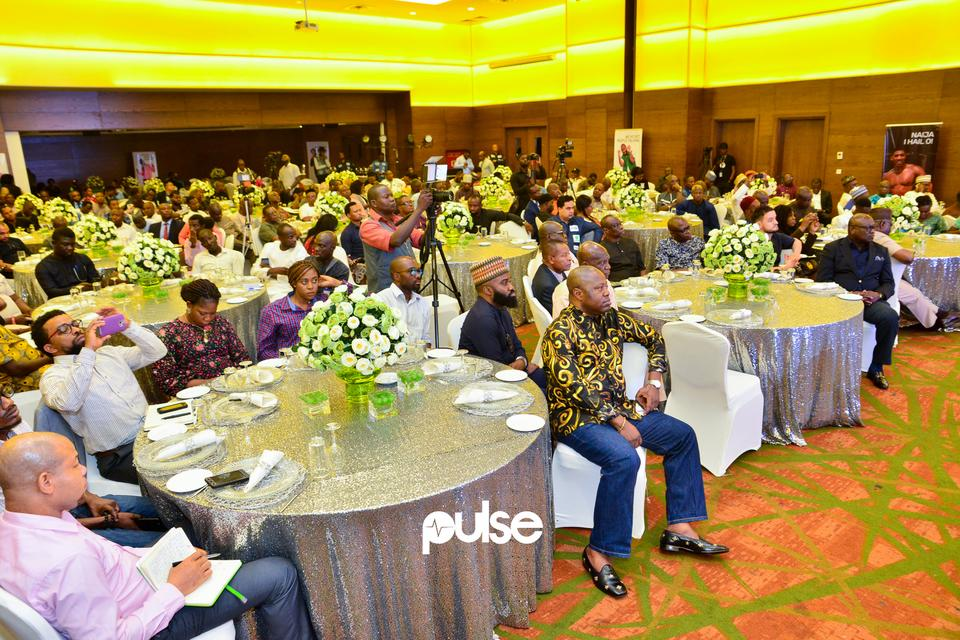 Guests at Glo unveil event which held at Eko hotel & suites, Victoria Island Lagos on Friday, February 1, 2019.