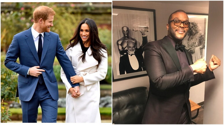 Tyler Perry and the royal couple all have a mutual friend, Oprah Winfrey [Instagram/SussexRoyal] [Instagram/TylerPerry]