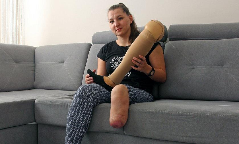 Potrzebuje protezy by nie cierpieć