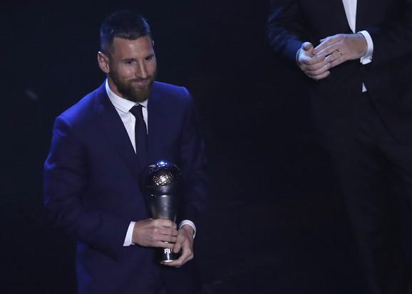Lionel Mesi na dodeli nagrade