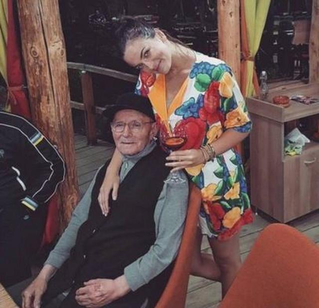 Milica Pavlović sa dekom