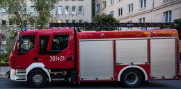 Osobówka wjechała w wóz strażacki