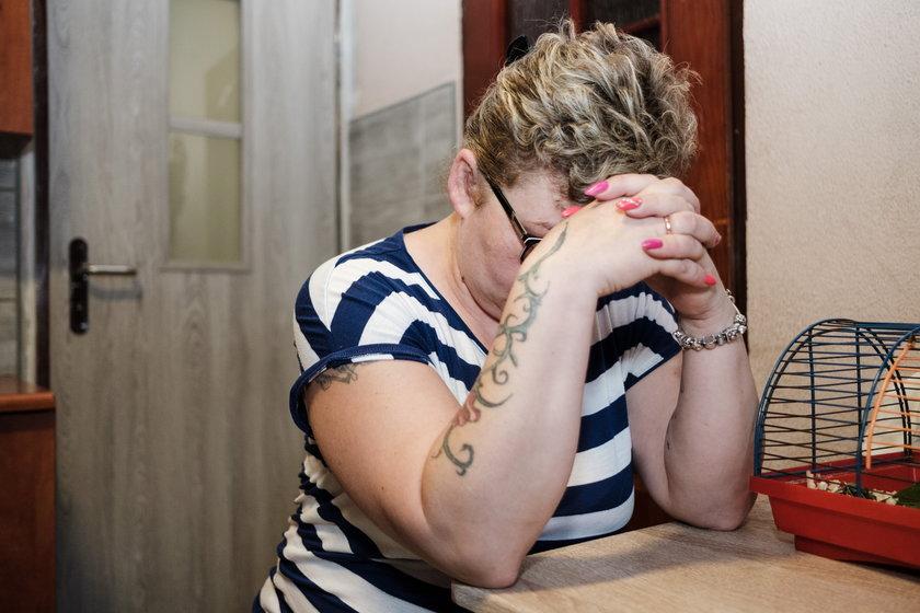 Pani Monika jest matką chłopca, który 13 lat temu padł ofiarą optyka z Sosnowca