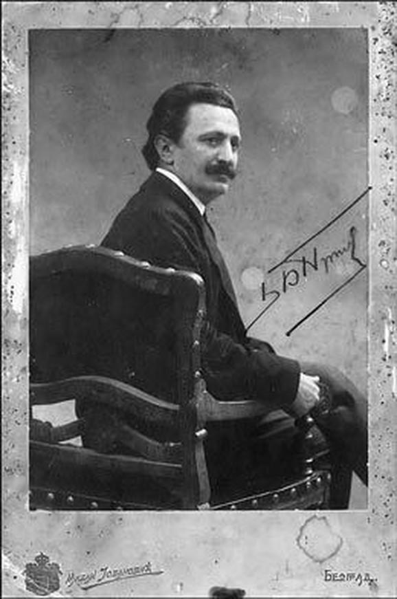 Branislav Nušić 1904.