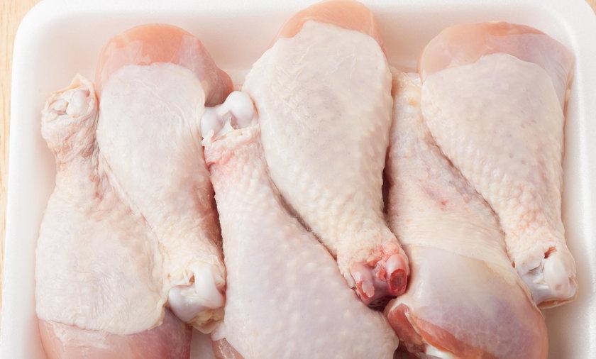 Podudzia kurczaka w opakowaniu