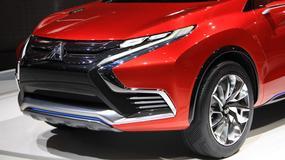 Mitsubishi XR-PHEV II - nowy styl (Genewa 2015)