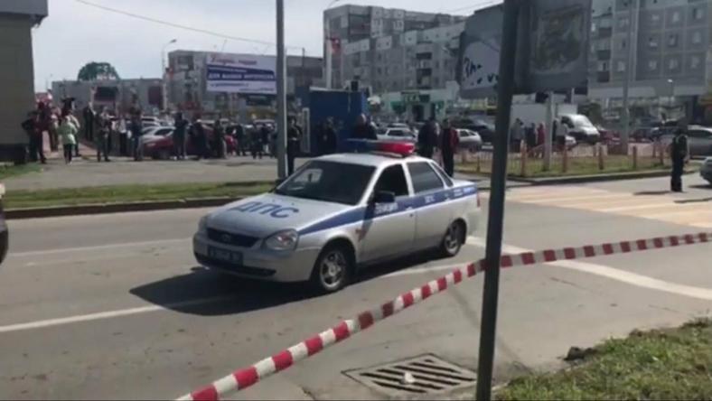 Miejsce ataku w Surgucie na Syberii
