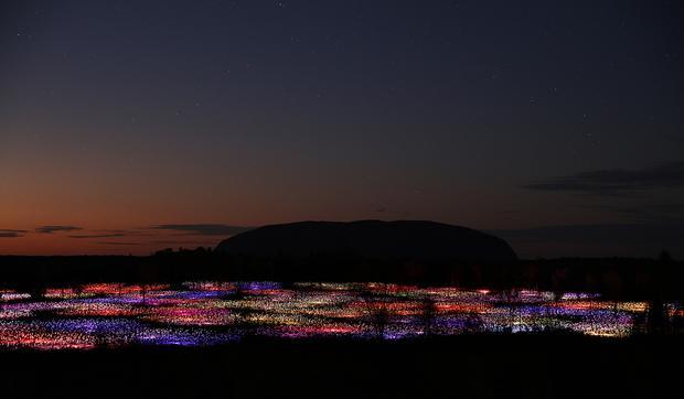 Pole Światła Uluru
