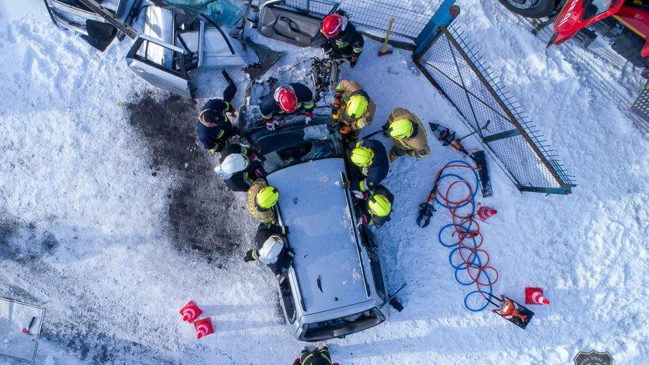 Strażacy z jednostki OSP Chojnice w akcji