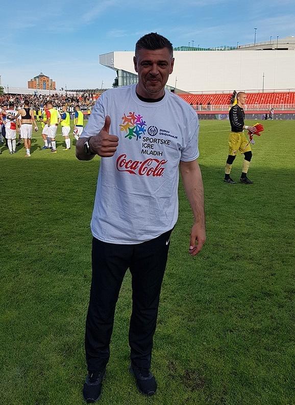Savo Milošević kao promoter Sportskih igara mladih
