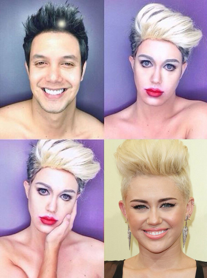Paolo Ballesteros jako Miley Cyrus