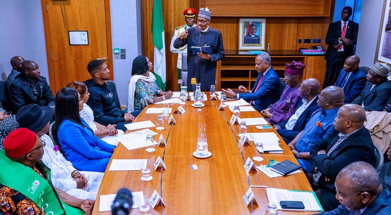 President Buhari says partial border closure is not to punish Ghana, Benin Republic, and other West African nations