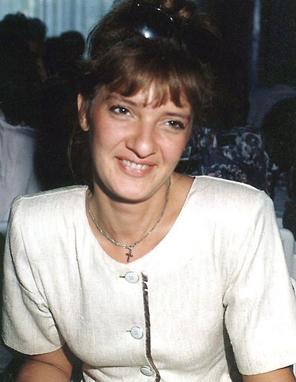 Novinarka Radislava Dada Vujasinović foto privatna arhiva