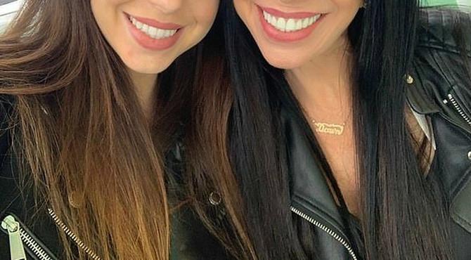 Majka i ćerka liče kao jaje jajetu