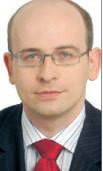 Adam Marik, menedżer w firmie Deloitte