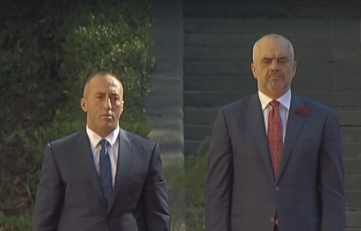 Ramuš Haradinaj, Edi Rama