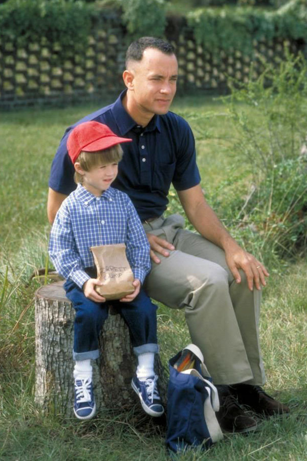"Haley Joel Osment w filmie ""Forrest Gump"" (1994)"