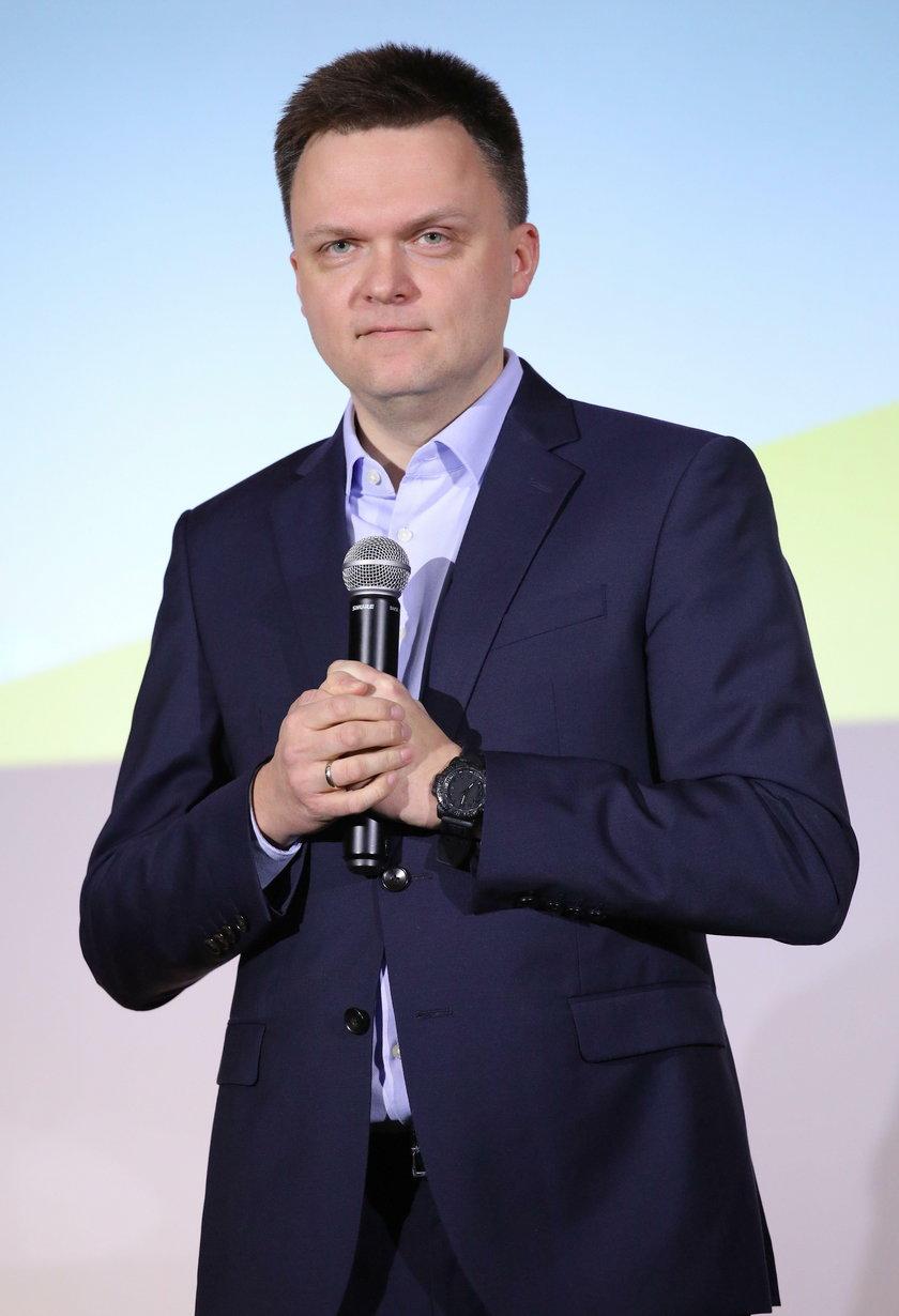 Szymon Hołownia chce pozyskać nowych posłów