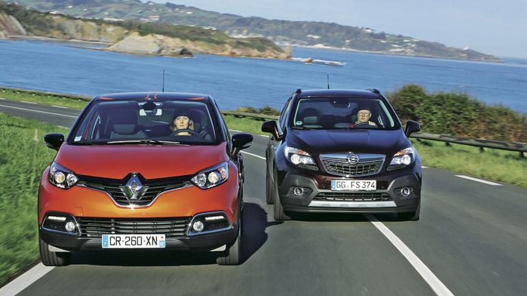 Renault Captur kontra Opel Mokka