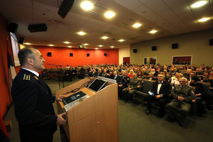 Godišnjica postojanja Vojno-medicinskog centra Novi Sad, Bratoljub Brkljača FOTO TANJUG - JAROSLAV PAP