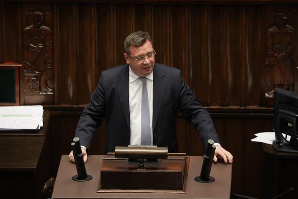 Według Michała Wójcika, funkcjonowanie Izby Dyscyplinarnej nie stwarza uprawdopodobnionego zagrożenia interesu obywateli