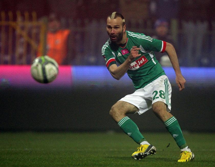 Danijel Ljuboja w czasie meczu Podbeskidzie – Legia