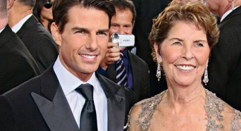 Tom Cruise and mother