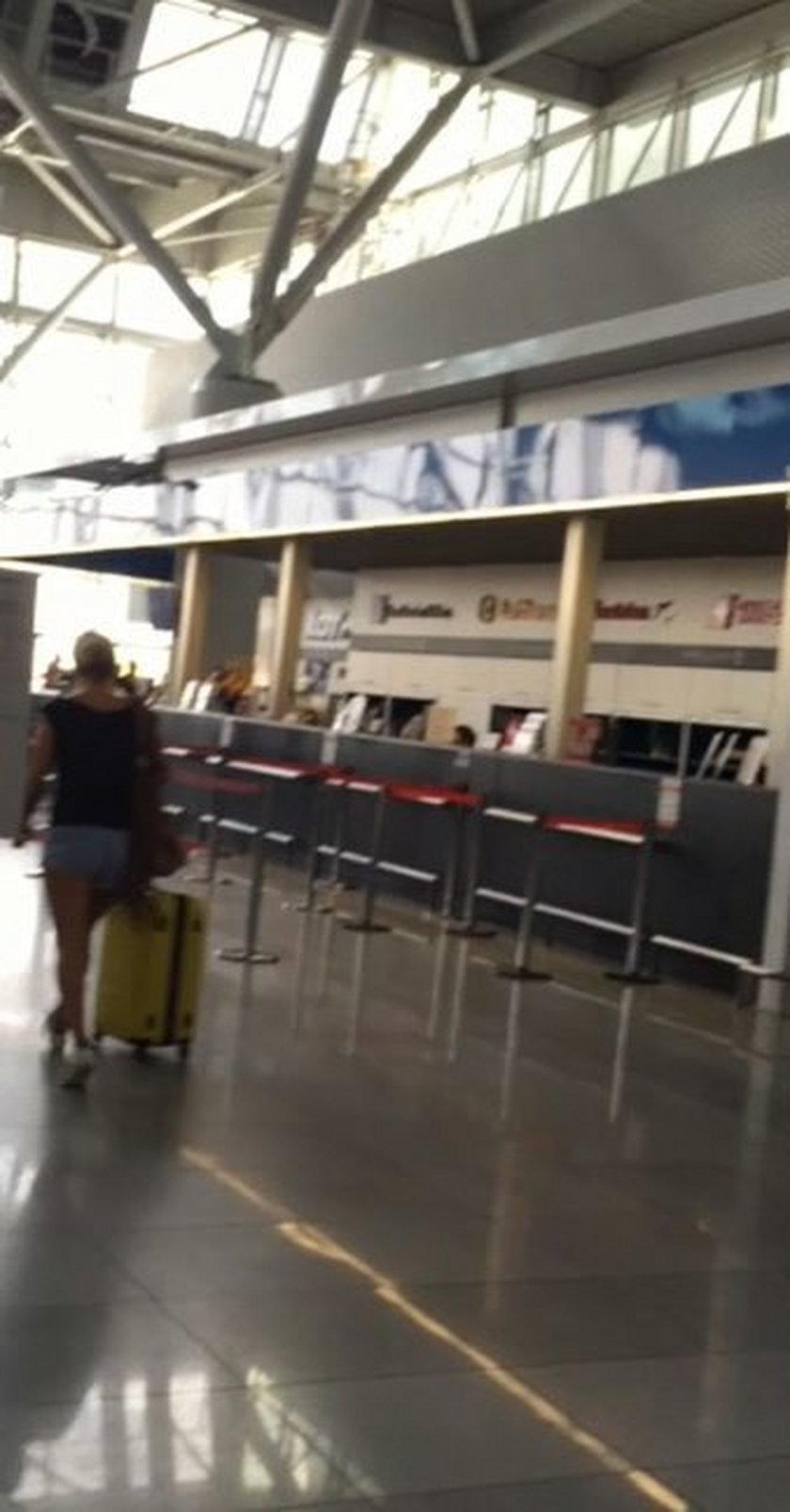 Awantura Dody z facetem na lotnisku