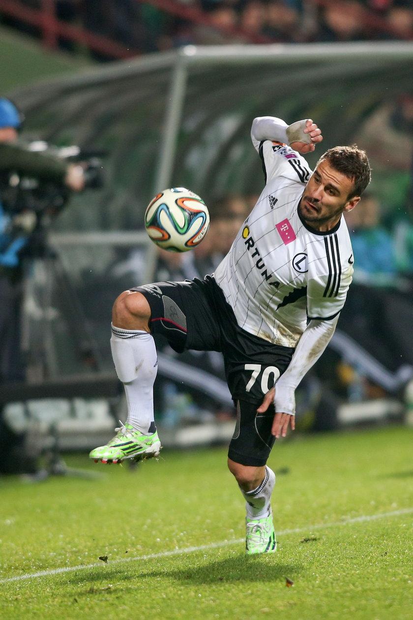 Legia nie chce puścić swojego gwiazdora