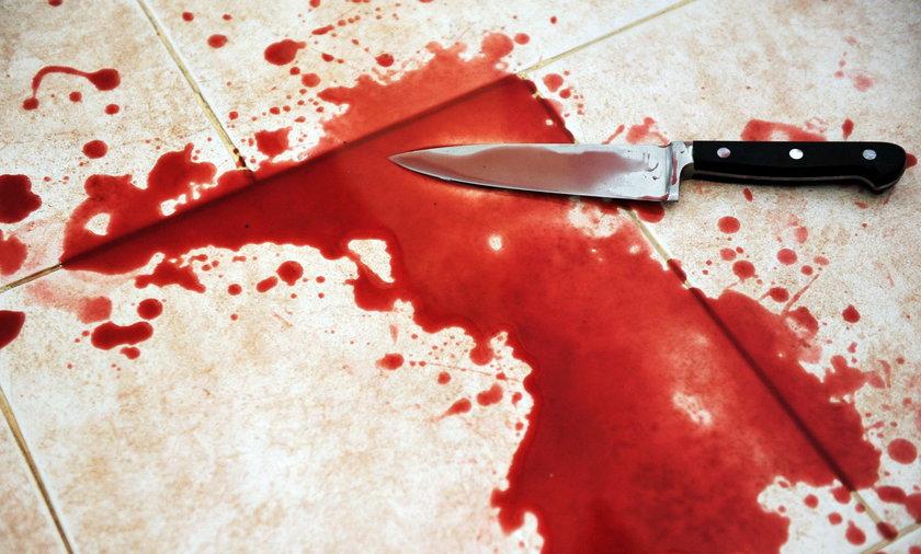 Próbowała zabić partnera. Potem położyła się spać