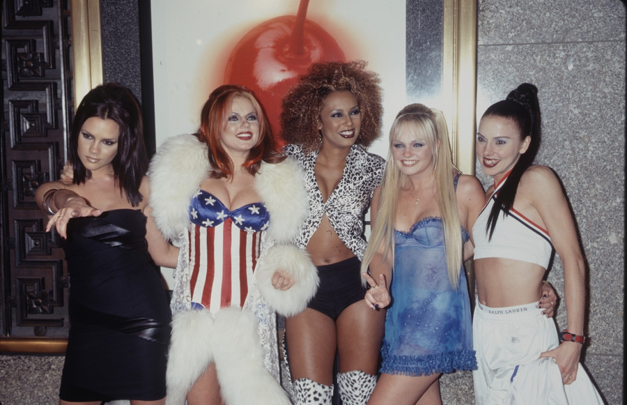 Spice Girls 1990 rok/vGetty Images)