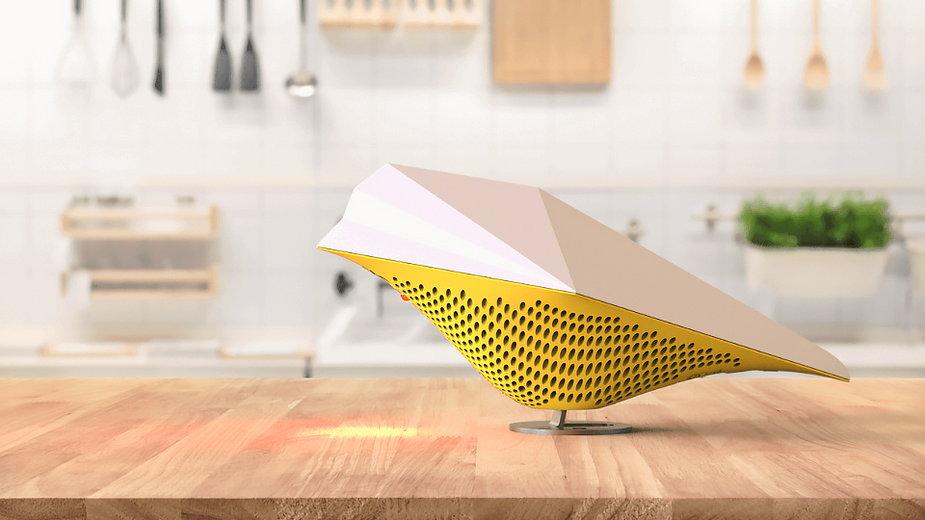AirBird - czujnik jakości powietrza niczym ptak z origami