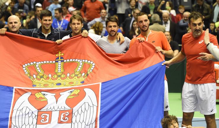 Srbija Španija dubl, Dejvis kup