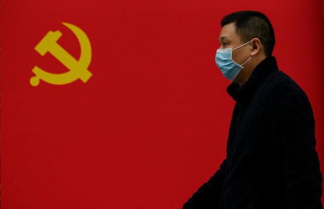 Kina koronavirus zastava