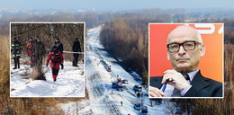 Jan Lityński ratował psa, utonął pod lodem. Wielka akcja nad Narwią, wznowiono poszukiwania