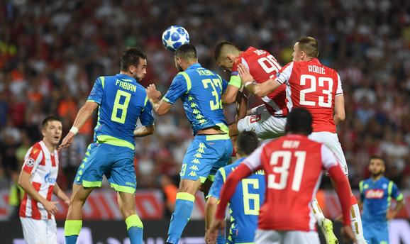 Zvezda je remizirala sa Napolijem u prvom susretu 0:0