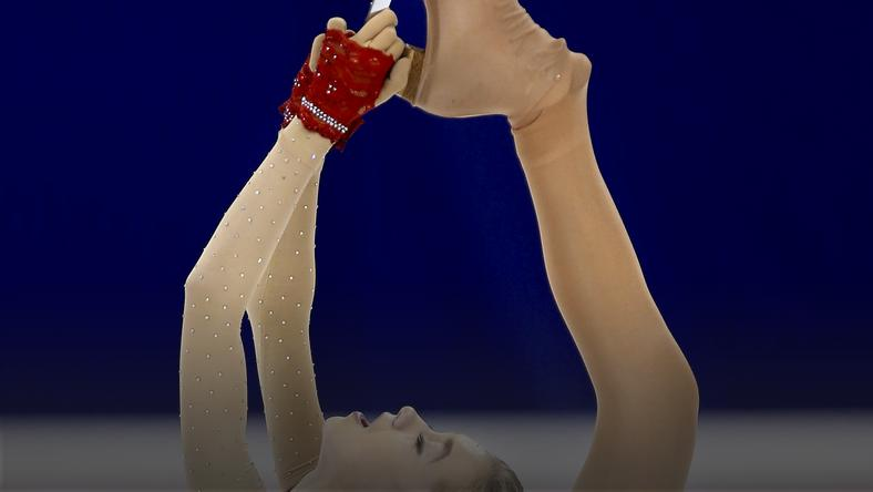 Elena Radionova of Russia competes in the ladies short program during the ISU World Figure Skating Championship in Shanghai