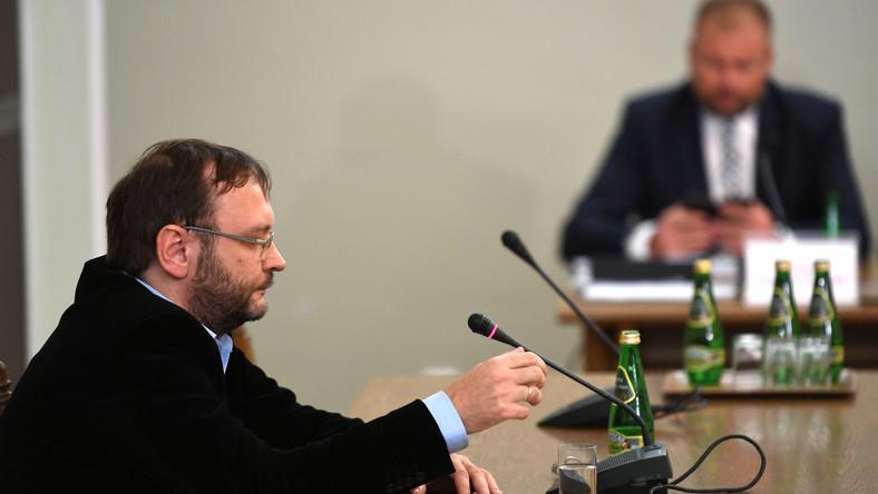 Były dominikanin Jacek Krzysztofowicz przed sejmową komisją śledczą ds. Amber Gold