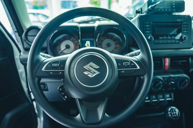 Suzuki Jimny N1 jako samochód straży pożarnej