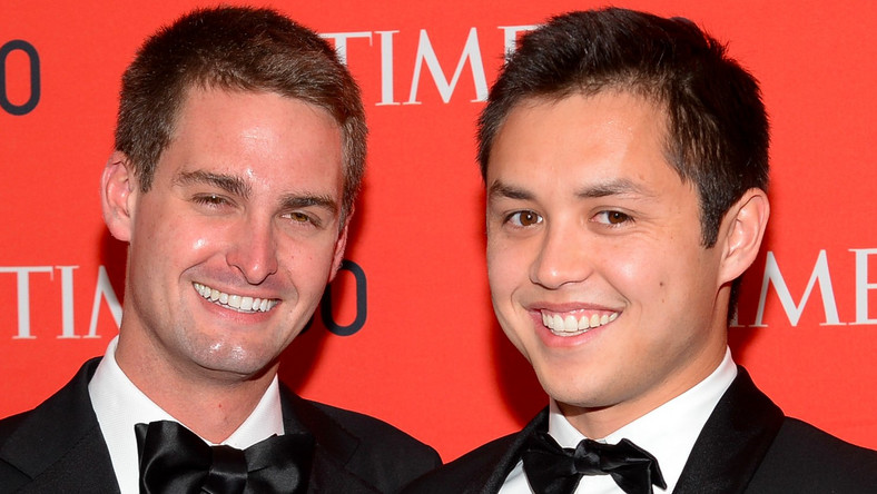 Evan Spiegel and Bobby Murphy — 3 years
