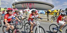 71 Tour de Pologne  w Katowicach - Kolarze na mecie