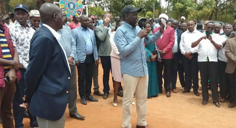 Deputy President William Ruto in Embu