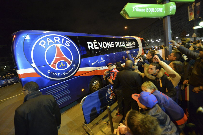 Zobacz kosmiczny autobus piłkarzy francuskiego PSG! Zdjęcia!