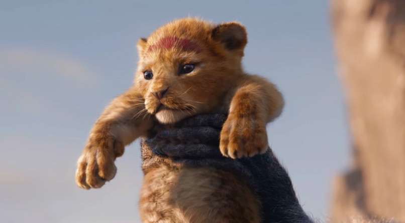 "Simba (Donald Glover) în noul ""The Lion King"""