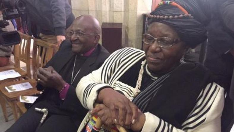 Desmond and Leah Tutu