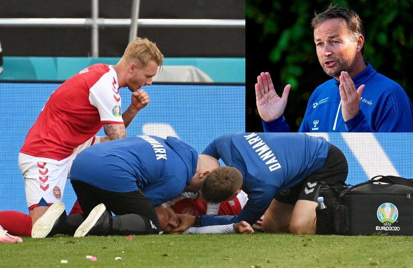 Christian Eriksen (29 l.) miał zawał serca w meczu z Finlandią, ale już czuje się dobrze.