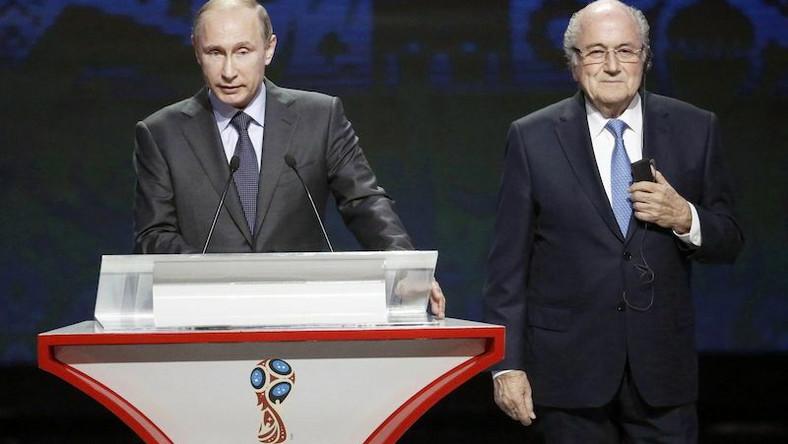 Putin i Blatter